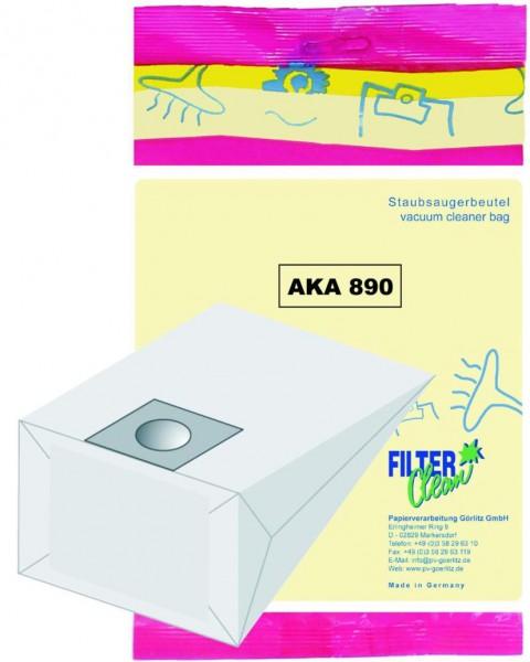 Staubsaugerbeutel AKA890 Papierfilter BSS complex