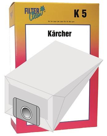 Staubsaugerbeutel K5 Papierfilter Kärcher