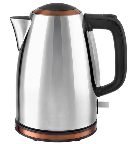 Wasserkocher JK1050CO Design Edelstahl Copper 1,7 Liter, Efbe