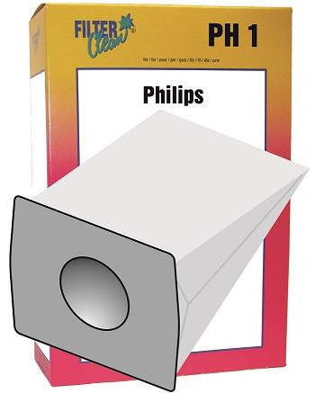 Staubsaugerbeutel PH1 Papierfilter Rowenta