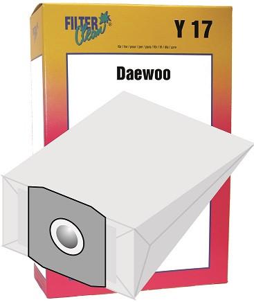 Staubsaugerbeutel Y17 Papierfilter