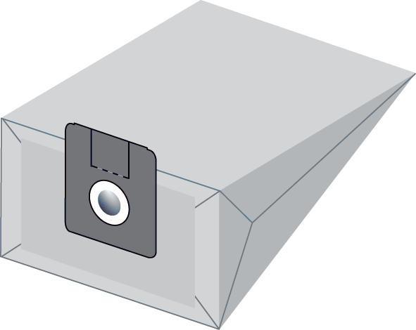 Staubsaugerbeutel W6 Papierfilter